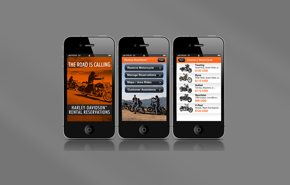 wray creative services – categories – harley-davidson